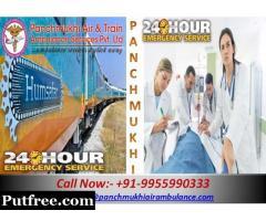 Panchmukhi Train Ambulance Guwahati provides the best and Low-Cost Train Ambulance