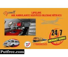 ICU Accessible Lifeline Air Ambulance in Silchar Utmost Dexterous Reach On-Time