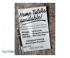 HomeTuition Teachers Available