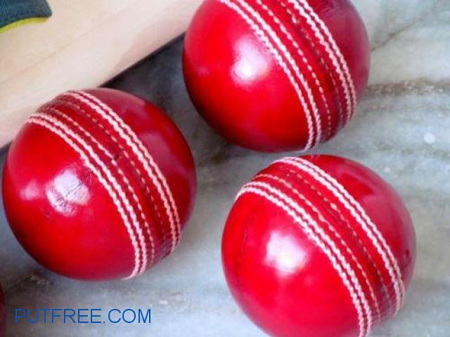 Cricket hard boll hand made with pure leather
