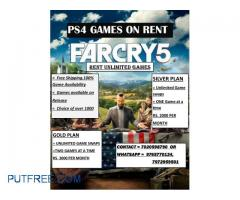 Ps4 games on rent in pune