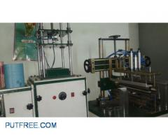 Pvc Tube Manufacturing And Nose Binding Machine