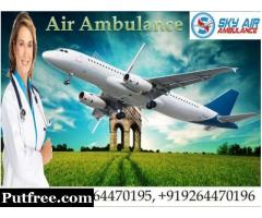 Shift Patient by SKY Air Ambulance in Delhi with Medical Team