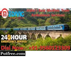 Get Reliable Train Ambulance from Delhi with Full ICU Setup – Medivic Aviation