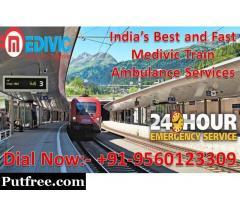 Get Immediate Emergency Train Ambulance from Kolkata at Low Budget – Medivic Aviation