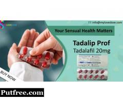 Buy Tadalip Prof 20