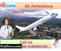 Hire Air Ambulance Services in Kolkata by Medivic Aviation Ambulance