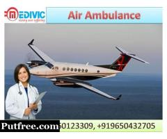 Best  Air Ambulance Services in Jamshedpur  by Medivic Aviation Ambulance