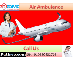 Reliable Air Ambulance in Bangalore by Medivic Aviation with Doctor