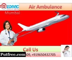 Credible Air Ambulance in Mumbai by Medivic Aviation at Low Cost
