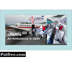 Lifeline Air Ambulance in Varanasi Meets Aeromedical Transfer Reasonable to Cost