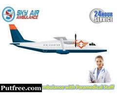 Take Hi-Class Commercial Air Ambulance Service in Bhubaneswar with Perfect Medical Support