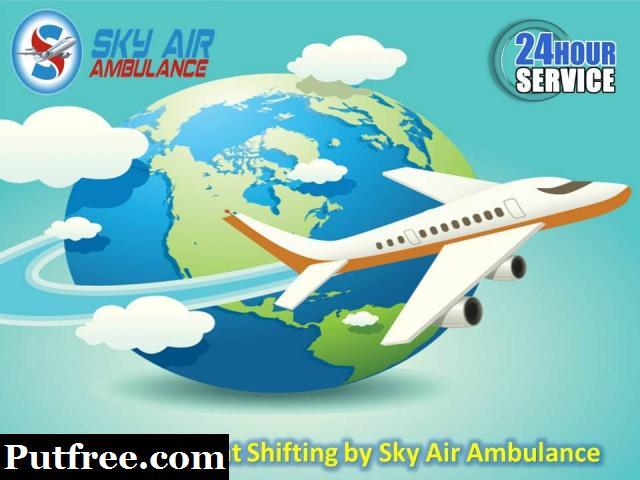 Book Modern CCU Occupied Charter Air Ambulance in Bhopal at Minimum Rate
