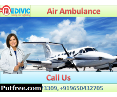 Pick Best Air Ambulance in Varanasi with MD Doctor by Medivic Aviation