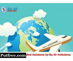 Get Matchless ICU Setup Commercial Air Ambulance in Varanasi at Low Fare