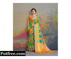 Shop the best Uppada Silk Sarees from Mirraw