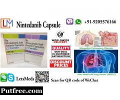 Indian Nintedanib Capsules Price Cyendiv 150mg Wholesale Supplier