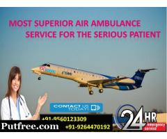 Gain Matchless ICU Care by Medivic Air Ambulance in Bagdogra
