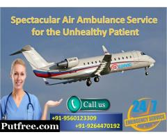 Reputed Medical Air Ambulance in Dimapur by Medivic