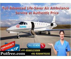 Gain Trustful Medical Care by Medivic Air Ambulance in Guwahati