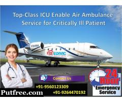 Outstanding Shifting Service by Medivic Air Ambulance in Patna