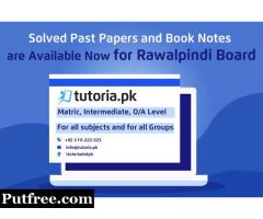 Rawalpindi Board SSC & HSSC Past Papers and Book Solutions