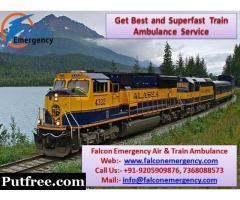 Get High-Quality Health Solution - Train Ambulance in Kolkata by Falcon Emergency