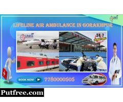 Complete Medication of Lifeline Air Ambulance in Gorakhpur Stabilizes Patient