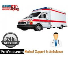 Choose Ambulance Service in Dumka with Entire Medical Amenities