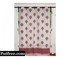 Browse Curtains Collection At JaipurFabric.com