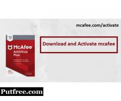 mcafee.com/activate-install mcafee with activation code