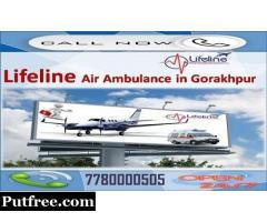 Convenient Dispatch of Patient by Lifeline Air Ambulance from Gorakhpur