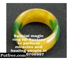 Spiritual magic ring for pastors to do wonders and healing +27820706997