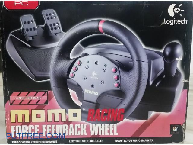 Logitech MOMO Force Feedback Racing Wheel Gurgaon - Put Free