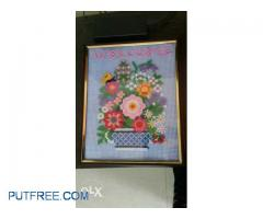 Wall Decoration with Frame