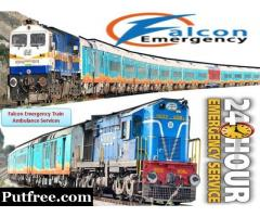 Get Falcon Emergency Train Ambulance in Bangalore with ICU Facility at Low Cost