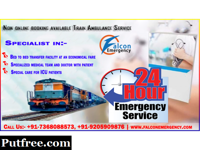 Get Best Medical Train Ambulance Service from Bhopal at the Minimum Cost