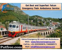 Get Lucknow Train Ambulance with Complete Medical Equipment – Falcon Emergency