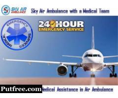 Obtain Air Ambulance from Kolkata at a very Economical Cost