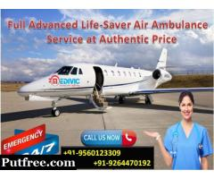 Use Most Reliable and Advanced Air Ambulance in Chennai by Medivic