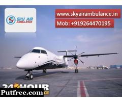 Choose Air Ambulance from Kolkata at with the Latest Medical Tool