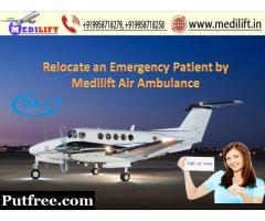 Get Medilift Air Ambulance Service in Kolkata for Best and Emergency Facility