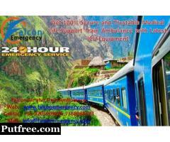 Get Train Ambulance in Kolkata with Full ICU Tools - Falcon Emergency