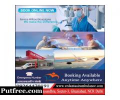 Vedanta Air Ambulance Services in Indore with Specialization Faculty