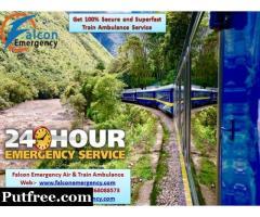 Get Guwahati Train Ambulance with Amazing Medical Services - Falcon Emergency