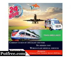 Vedanta Air Ambulance Service in Amritsar at Low Cost