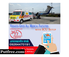 Get Advanced Air Ambulance Services in Hyderabad by Vedanta Air Ambulance