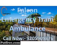 Get Train Ambulance Services in Guwahati at Minimum Budget - Falcon Emergency
