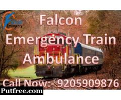 Get Cost-Effective Medical Train Ambulance Services in Bangalore - Falcon Emergency