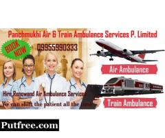 Best Medical Support in Panchmukhi Air Ambulance from Kolkata